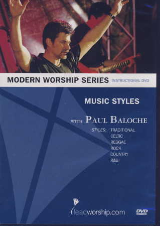 Modern Worship Series Music Styles Dvd