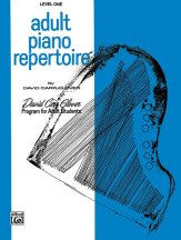Adult Piano Repertoire Lev 1
