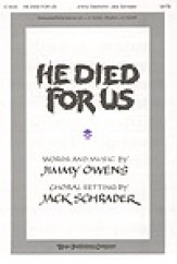 guitar theory he died for us sheet by schrader sku c5224 5224