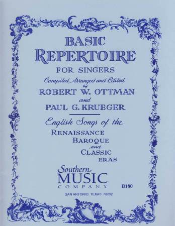 BASIC REPERTOIRE FOR SINGERS