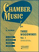 Chamber Music For Three Woodwinds Vol 1