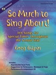 So Much To Sing About (Bk/Cd)