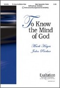 To Know The Mind of God