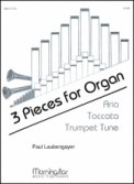 3 Pieces For Organ