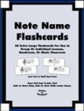 Note Name Flashcards
