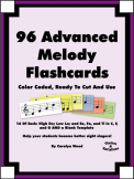 96 Advanced Melody Flashcards