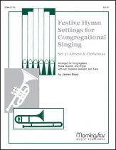 FESTIVE HYMN SETTINGS/CONG SINGING SET 3
