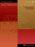Jazz Ballads For Singers (Bk/Cd)
