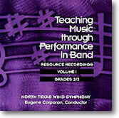 Teaching Music Through Perf/Band V1cd1