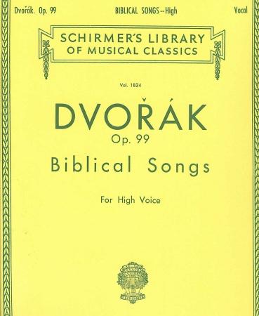 BIBLICAL SONGS OP 99