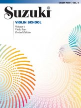 Suzuki Violin School 4 Rev Ed
