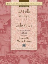 10 FOLK SONGS FOR SOLO VOICE