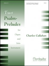 2 PSALM PRELUDES (W/ORGAN)