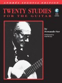 Twenty Studies For The Guitar (Bk/Cd)