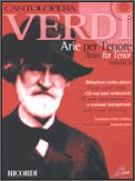 Verdi Arias For Tenor Vol 2 (Bk/Cd)