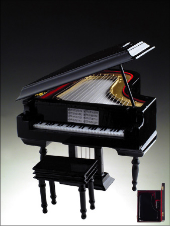 Music Box: Grand Piano Black