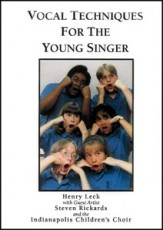 Vocal Techniques For The Young Singer