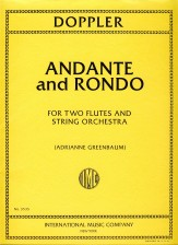 Andante and Rondo For Two Flutes and Str