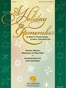 HOLIDAY TO REMEMBER, A (SATB SCORE)