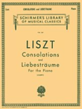 Consolations and Liebestraume Lb341