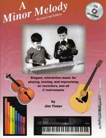 MINOR MELODY, A (BK/CD)