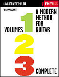 Modern Method For Guitar Vols 1 2 & 3