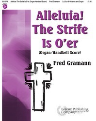 Alleluia! The Strife Is O'er - Organ/HB Score