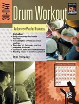30-Day Drum Workout (Bk/Dvd)