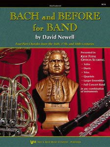 Bach and Before For Band 1 (CL/Bs Cl)
