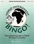 World Instrument Bingo