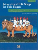 INTERNATIONAL FOLK SONGS (BK/CD)