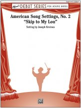 American Song Settings, No. 2: 2nd E-flat Alto Saxophone