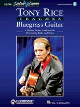 Tony Rice Teaches Bluegrass (Bk/Cd)