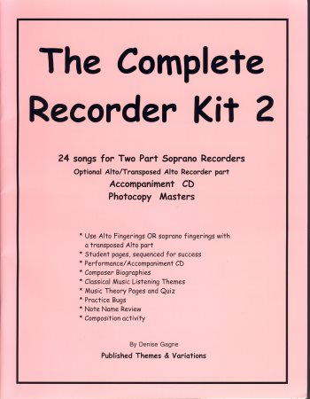 The Complete Recorder Kit 2
