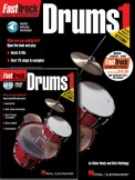 Fasttrack Drums 1 (Bk/CD/Dvd)
