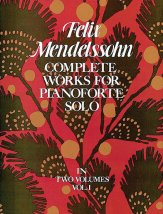 Complete Works For Pianoforte Solo Vol 1