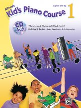 Kid's Piano Course Vol 1 (Bk/Cd)