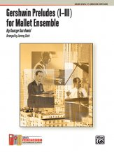 Gershwin Preludes (I-III) for Mallet Ensemble