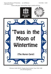' Twas In The Moon of Wintertime (Huron C