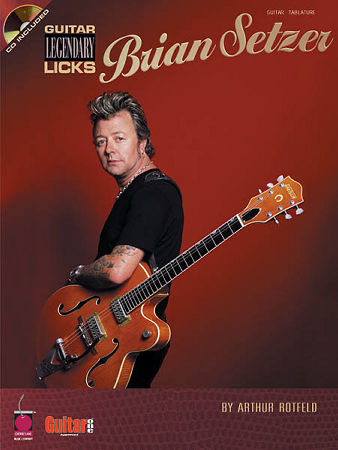 Legendary Licks Brian Setzer (Bk/Cd)