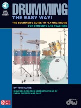 Drumming The Easy Way (Bk/Cd)