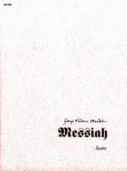 Messiah (Conductor's Score)