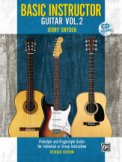 Basic Instructor Guitar Vol 2 (Bk/Cd)
