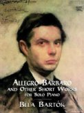 Allegro Barbaro and Other Short Works