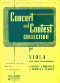 Concert and Contest Coll Viola