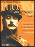Puccini Arias For Soprano Vol 2 (Bk/Cd)