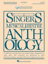 SINGER'S MUSICAL THEATRE ANTH DUETS 2