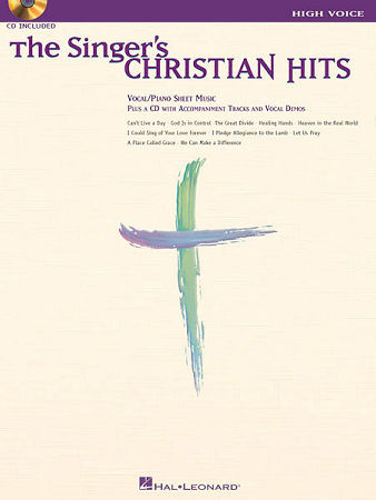 SINGER'S CHRISTIAN HITS, THE (BK/CD)