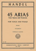 45 Arias From Operas & Oratorios V 2
