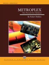 Metroplex: Three Postcards from Manhattan: 2nd B-flat Clarinet